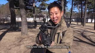 Sony FDR AX40 4K Handycam GARANSI RESMI