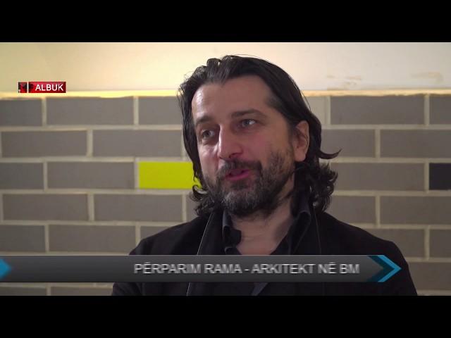 Biseda me arkitektin e shquar shqiptar, z. Perparim Rama me Alban Nuredini ne 100% ne ALB UK TV