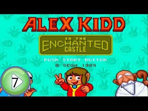 Start to Finish - 7 - Alex Kidd in the Enchanted Castle