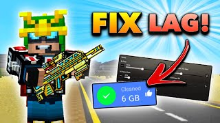 How to FIX LAG in Pixel Gun 3D! (MAX FPS Tips and Tricks)