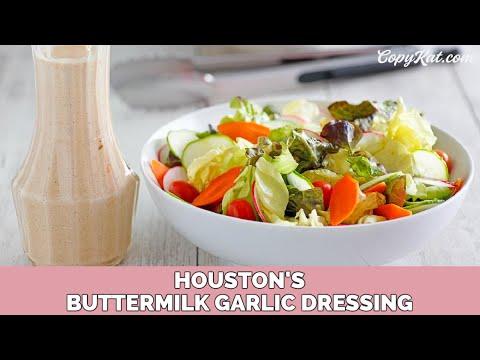 buttermilk garlic salad dressing