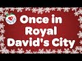 Once in Royal David's City with Lyrics | Christmas Songs & Carols