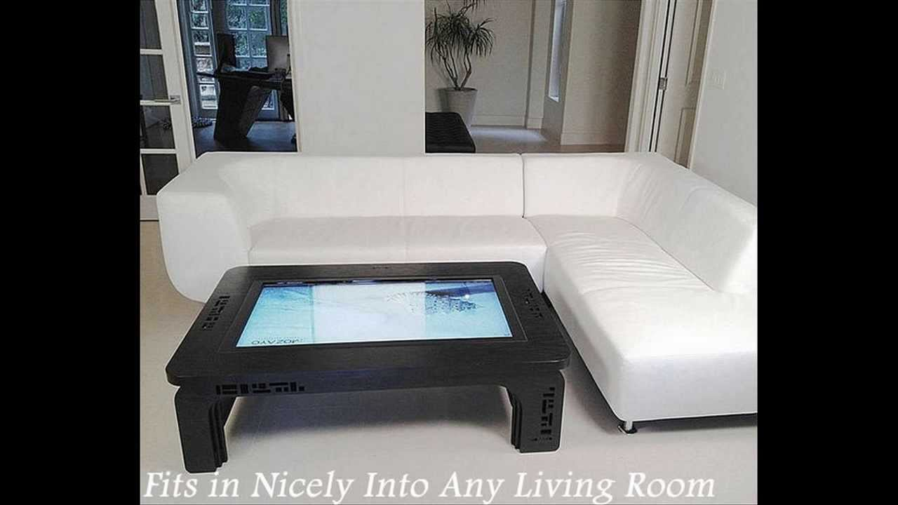 Touch Screen Coffee Table Computer YouTube