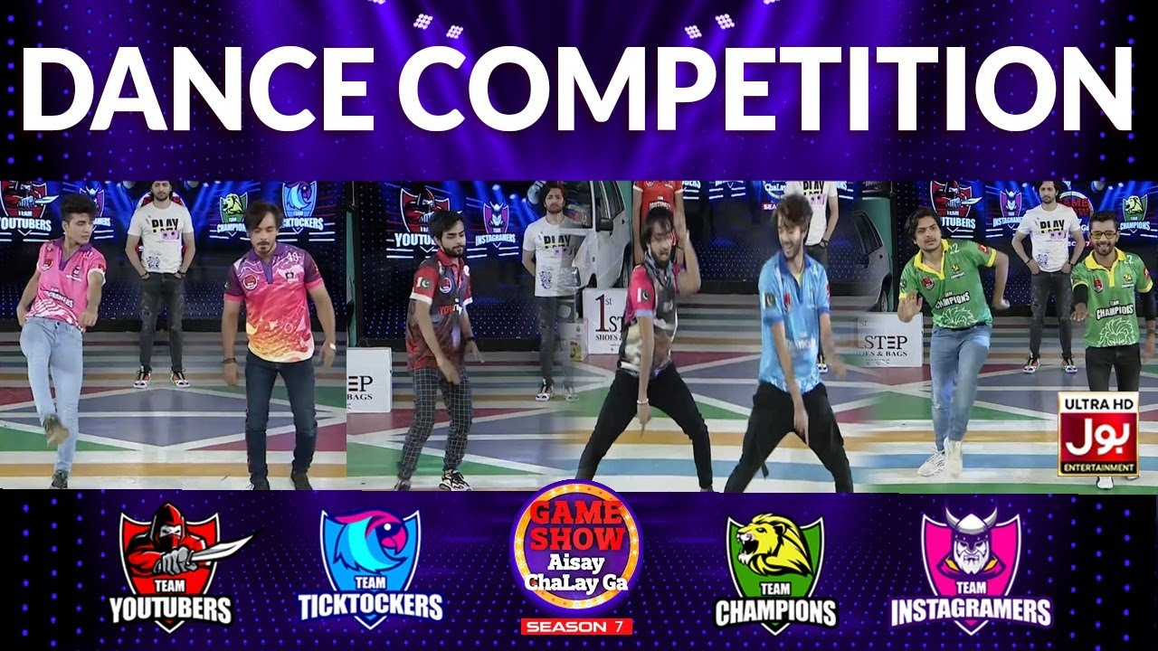 Download Dance Competition | Game Show Aisay Chalay Ga Season 7 | 26th July 2021