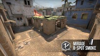 eXidus eSports | Mirage B-Spot Smoke