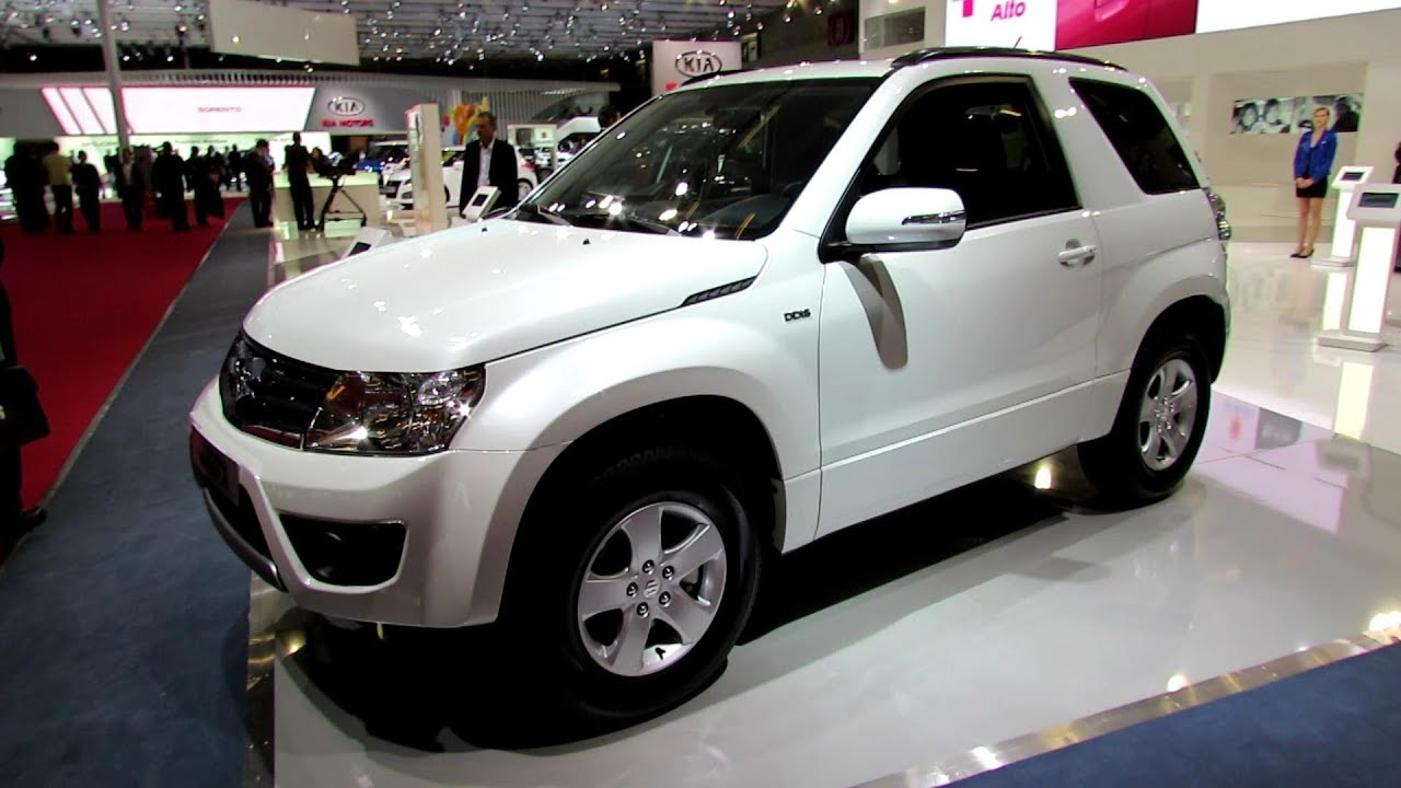 2013 suzuki grand vitara diesel 3 doors exterior and. Black Bedroom Furniture Sets. Home Design Ideas