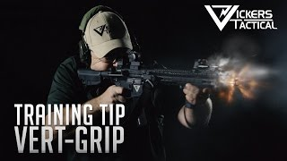 bcm training tip vert grip placement