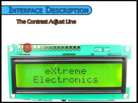 16x2 LCD Pin Description