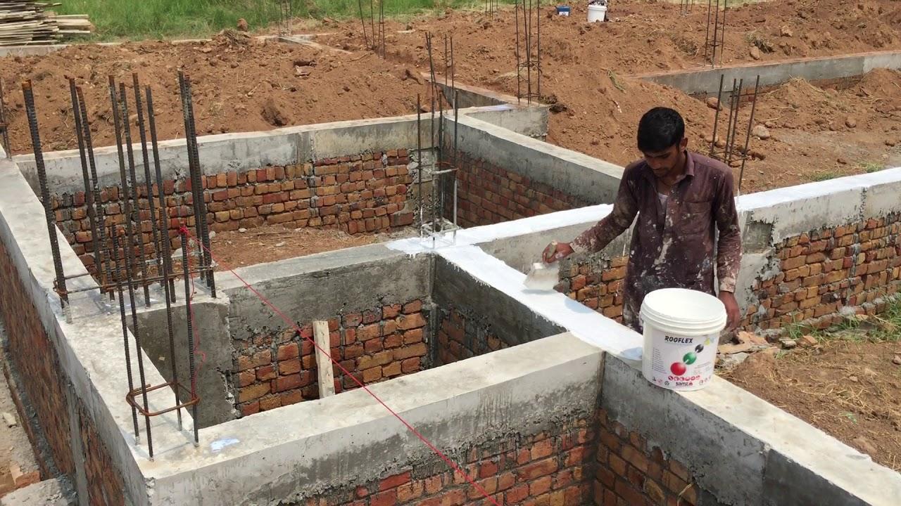 """DPC (Damp Proof Course) Waterproofing with """"Elastomeric ..."""