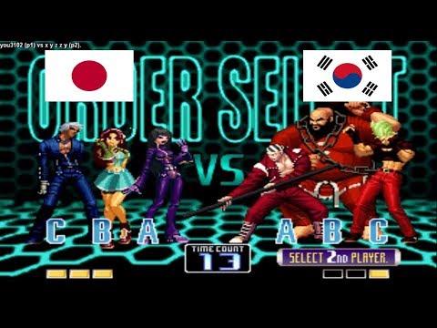 Kof 2002 - you3102 (japon) vs x y z z y (south korea) Fightcade