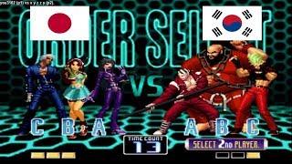 Kof 2002 - you3102 (japon) vs x y z z y (south korea) Fightcad…