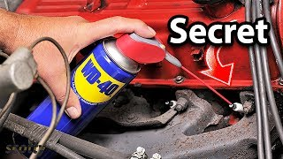 Doing This With WD-40 Will Save You Thousands in Car Repairs