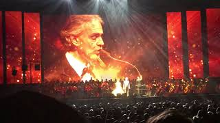 Andrea Bocelli, The Prayer, at the Garden 12/13/17