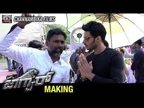 Jaguar Kannada Movie Making | Nikhil Kumar...