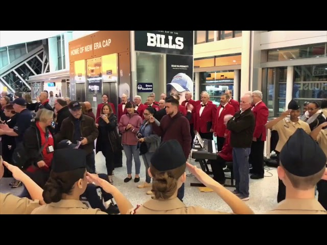 Red Blazer Men's Chorus welcomes home veterans