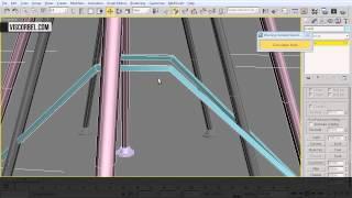 3ds max Моделирование:  пластиковый стул