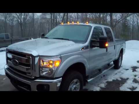 installing ford factory cab lights on 2016 f-350 - detailed installation  sequence