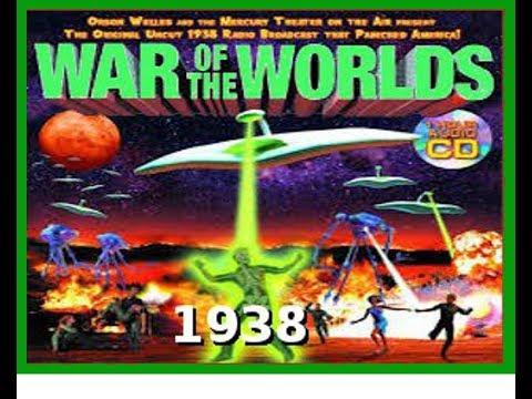 War of the Worlds  Orson Welles  1938