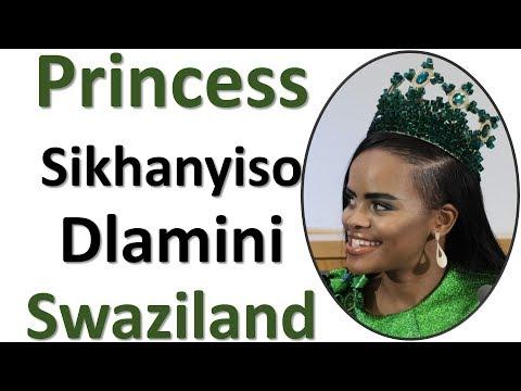 Princess Sikhanyiso Dlamini Of Swaziland