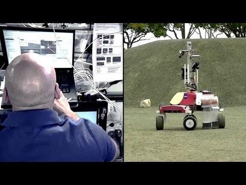 Space-Earth robotics