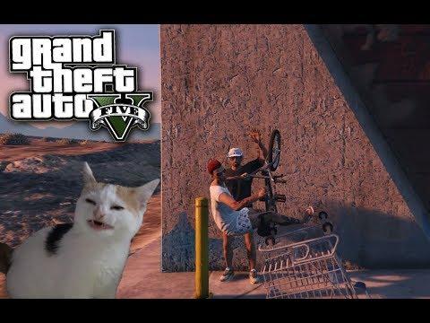 Grand Theft Auto V (Приколы, фейлы, смешные моменты, угар! №2) - Адская тачка!