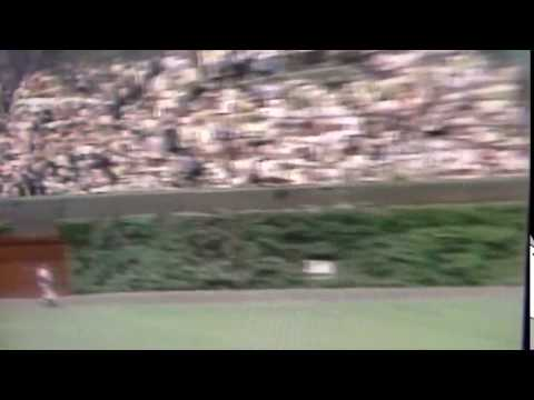 Willie Stargell Takes Ferguson Jenkins Yard At Wrigley! Pops!