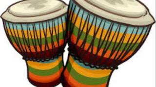 Conga drums sound effect no repeats or silence
