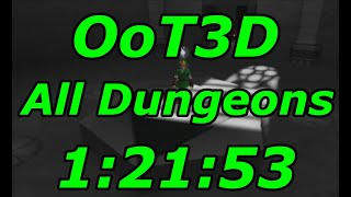 Ocarina of Time 3D All Dungeons Speedrun in 1:21:53[World Record]