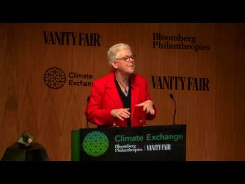Former U.S. EPA Administrator Gina McCarthy at the Bloomberg Vanity Fair Climate Exchange