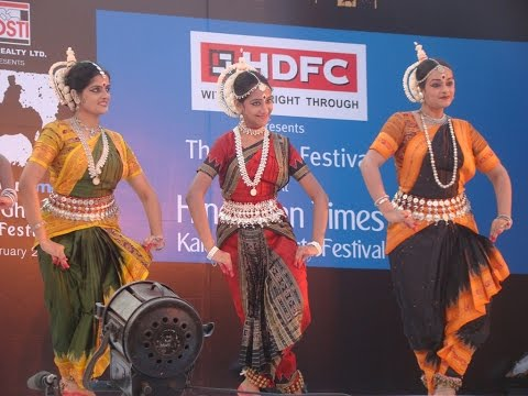 Swarna performing at Kala Ghoda Arts Festival 2014