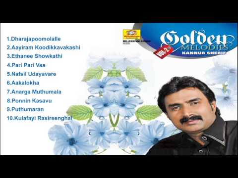 Golden Melodies Of Kannur Shereef  Vol-2 | Latest Malayalam Mappilapattukal | Mappila Album