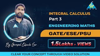 Application of Integral(Area and Length), Integral Calculus(Part-3) | Engineering Mathematics