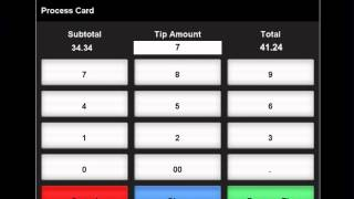 POS Instructional Video 25 - Adding Tips / Auto Gratuity