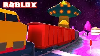 UFO TRAIN ROBBERY IN JAILBREAK!