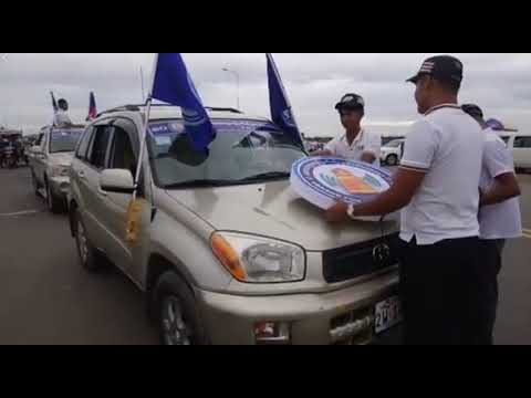 2018 07 07 LDP Party in cambodia / over 15000 people on the road