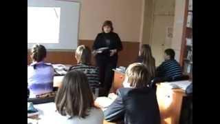 Яненко С. М. Урок з української мови в 10 класі з теми