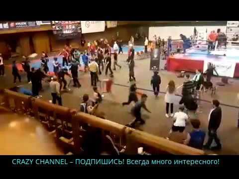 Mass Fight|Драка между азербайджанцами и армянами на чемпионате . 2016, новое, ютуб