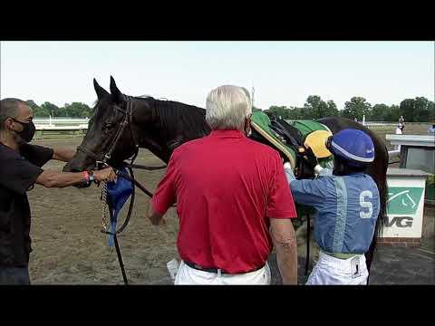 video thumbnail for MONMOUTH PARK 07-04-20 RACE 9   SPRUCE FIR HANDICAP