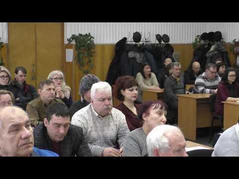 Заседание президиума Торецкого теркома профсоюза угольщиков