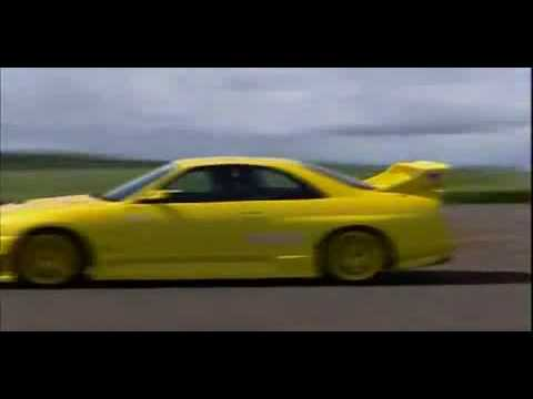Top Gear NISSAN SKYLINE 1000HP GTR~ R33