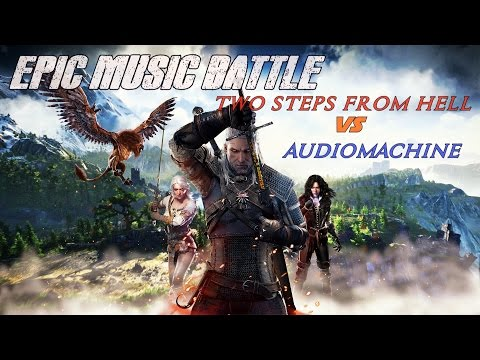 EPIC MUSIC BATTLE | Two Steps From Hell vs audiomachine