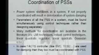 Module 2 Lecture 11 - Power System Operations and Control
