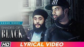 Shades Of Black | Lyrical Video | Gagan Kokri ft Fateh  | Heartbeat | Punjabi Song