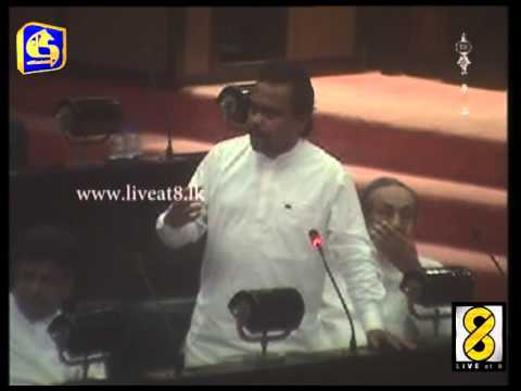Sri lanka parliament - Live at 8 News
