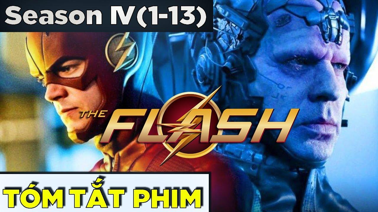 Download (Tập 1-13) Toàn bộ THE FLASH SEASON 4 trong 30 phút | Tóm Tắt Phim Recap Tia Chớp Phần 4