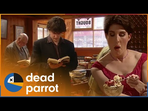 Grapes of Wrath | Black Books | Season 1 Episode 3 | Dead Parrot