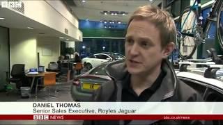 Jaguar Land Rover posts record sales