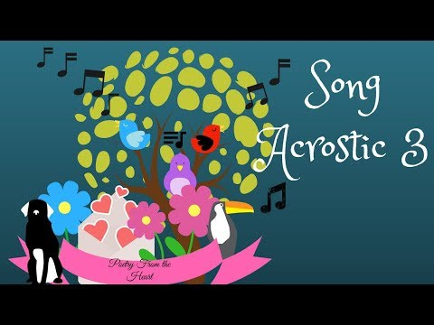 Song Acrostic 3