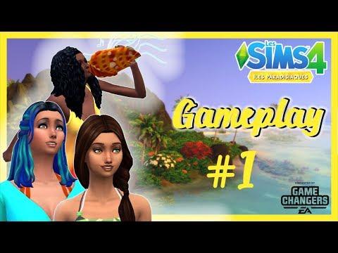 🌴 GAMEPLAY ▪ ILES PARADISIAQUES ▪ Les Sims 4 ▪