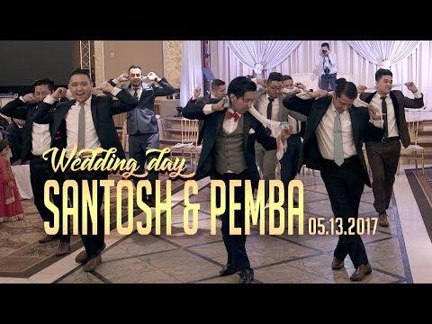 Best Nepali Wedding Reception Performances 2017, SANTOSH & PEMBA , NEW YORK.